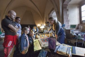 marbling at Vianden castle